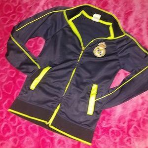 Authentic  Real Madrid kids Jacket
